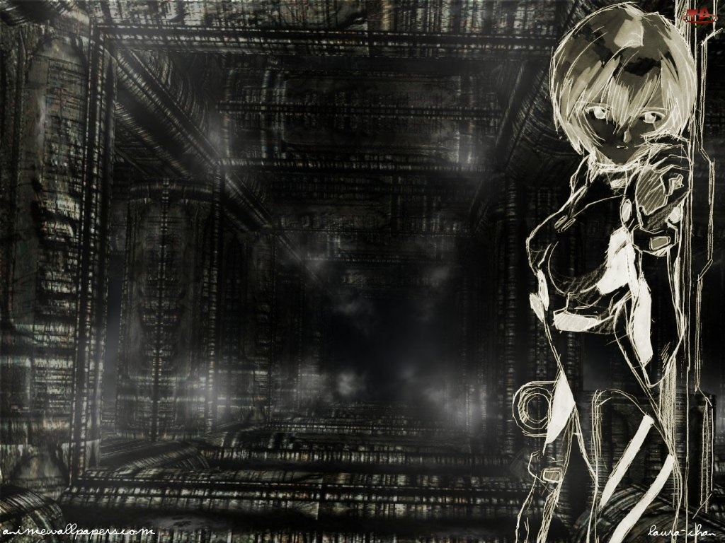 tunel, Neon Genesis Evangelion, kobieta