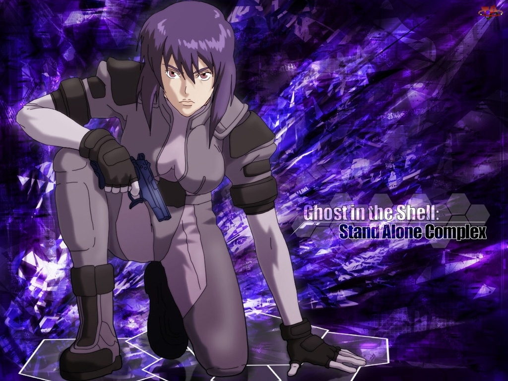 pistolet, Ghost In The Shell, kobieta