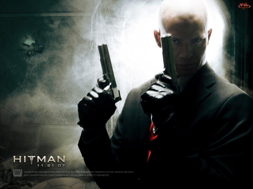 Hitman, Timothy Olyphant, garnitur, broń