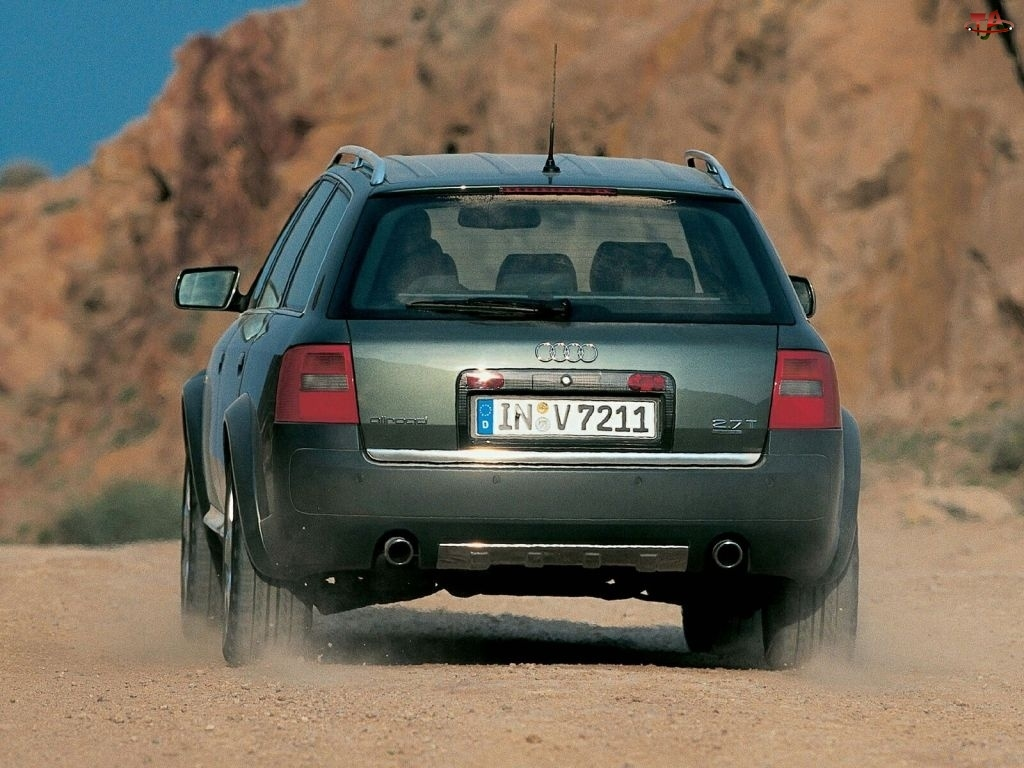Zielony, Audi Allroad