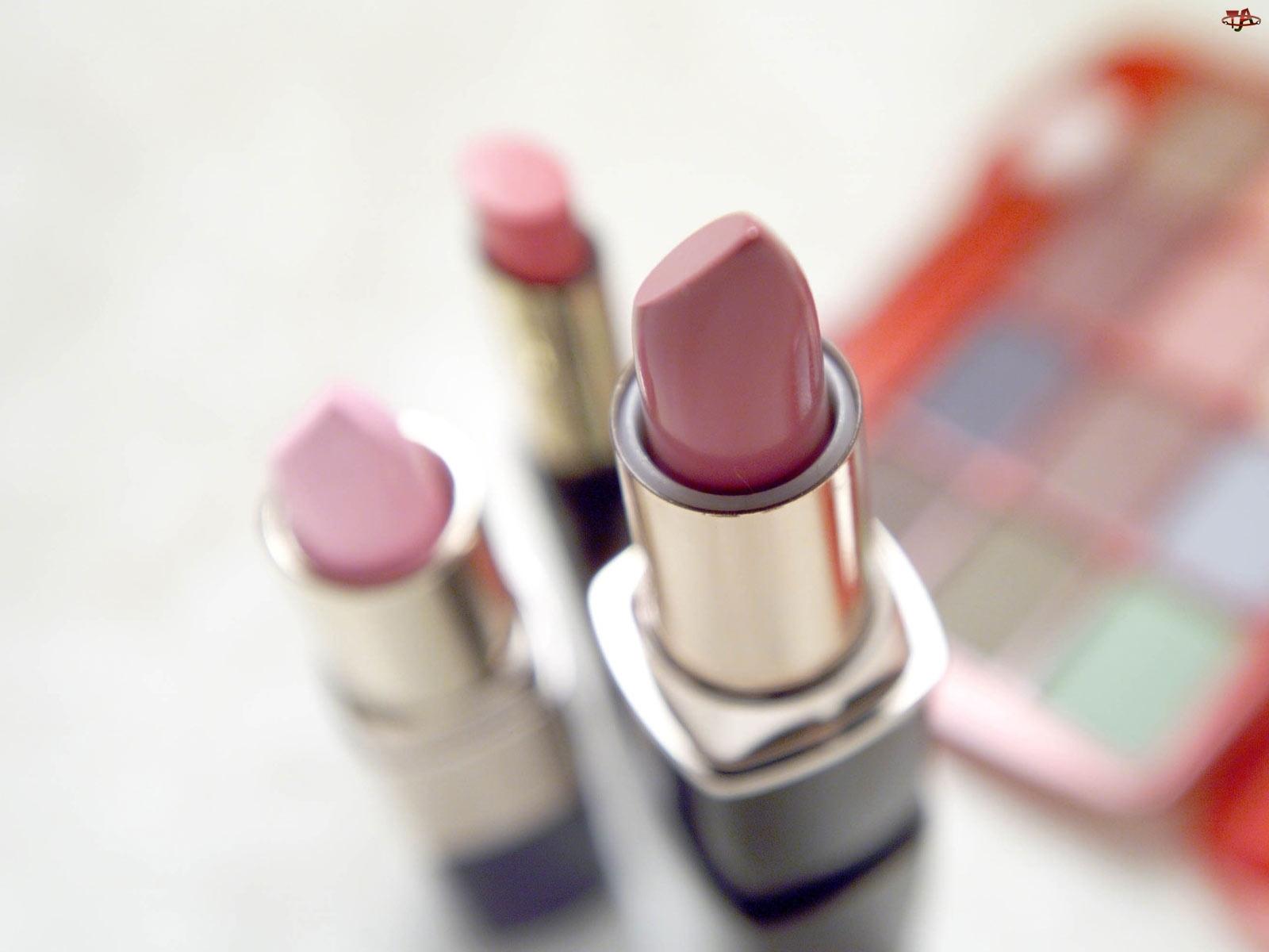 Kosmetyki, Makijaż, Pomadki, Cienie