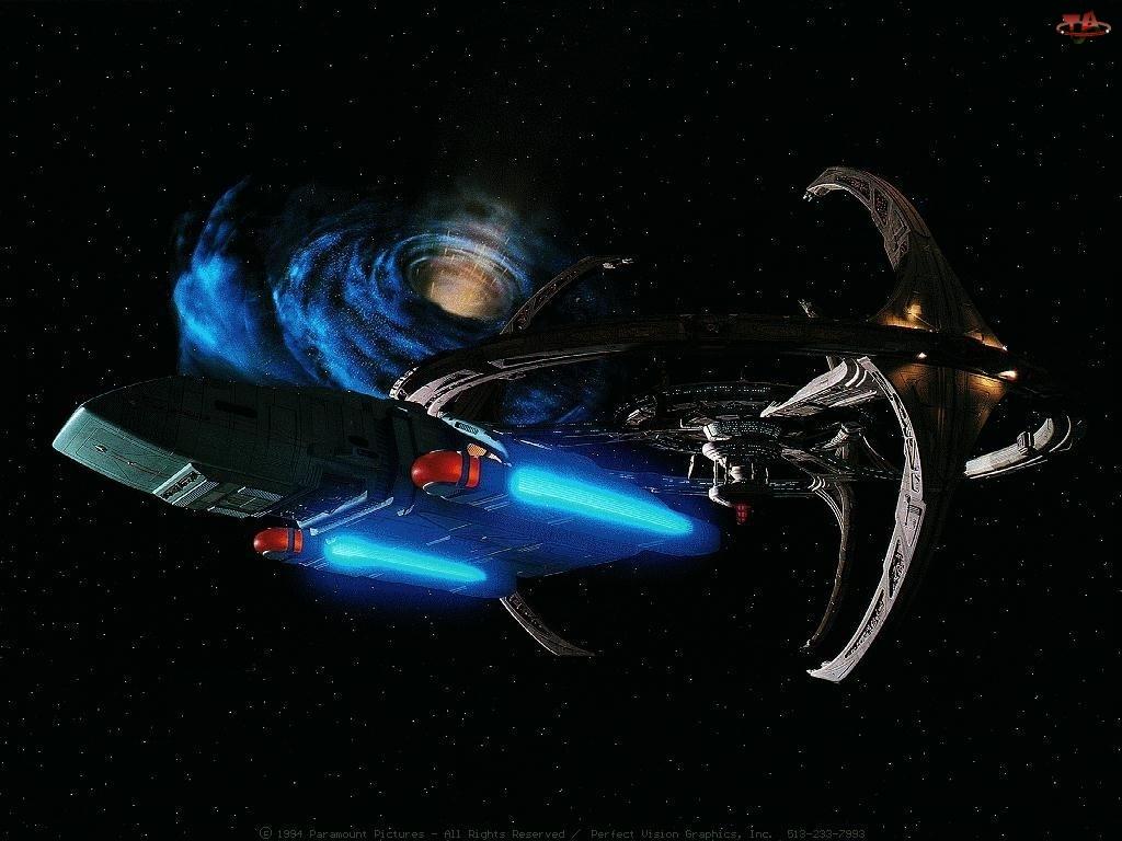 Statek kosmiczny, Star Trek Stacja kosmiczna, Star Trek Deep Space Nine