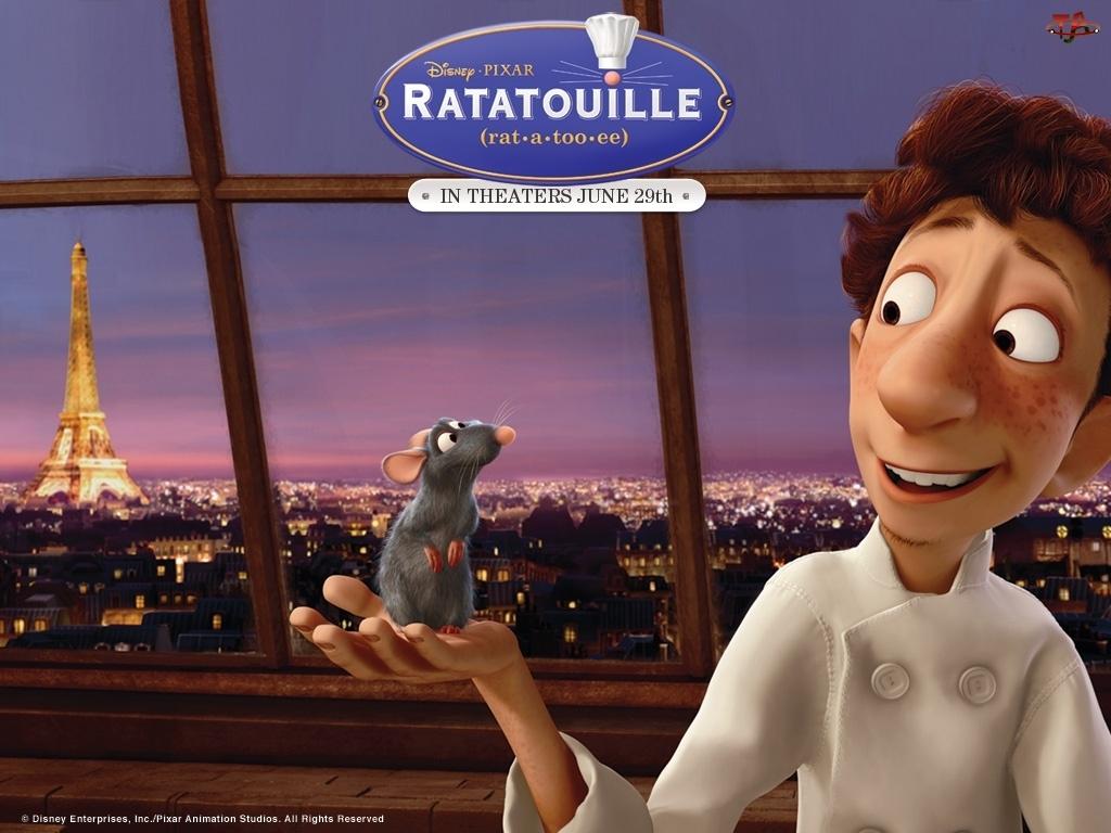 Okno, Ratatuj, Ratatouille, Chłopiec