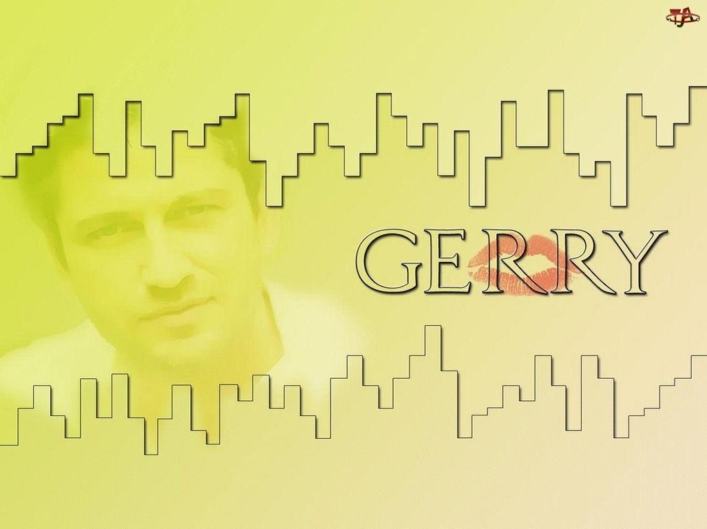 Gerard Butler, czerwone usta