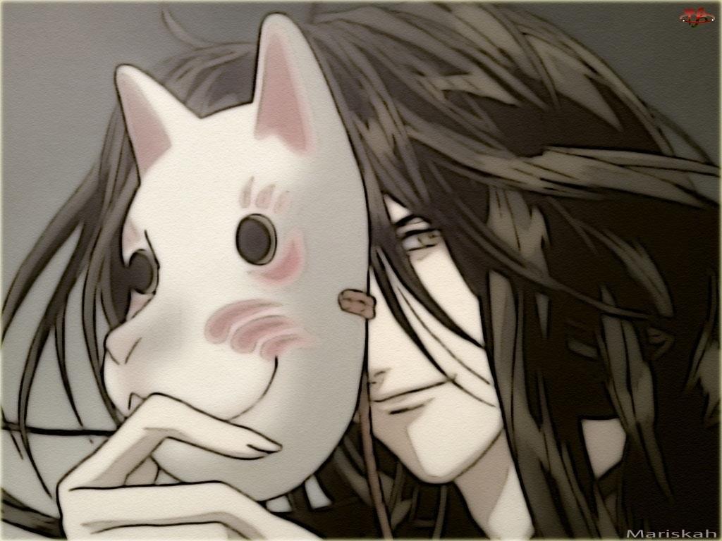 Yami No Matsuei, maska, twarz