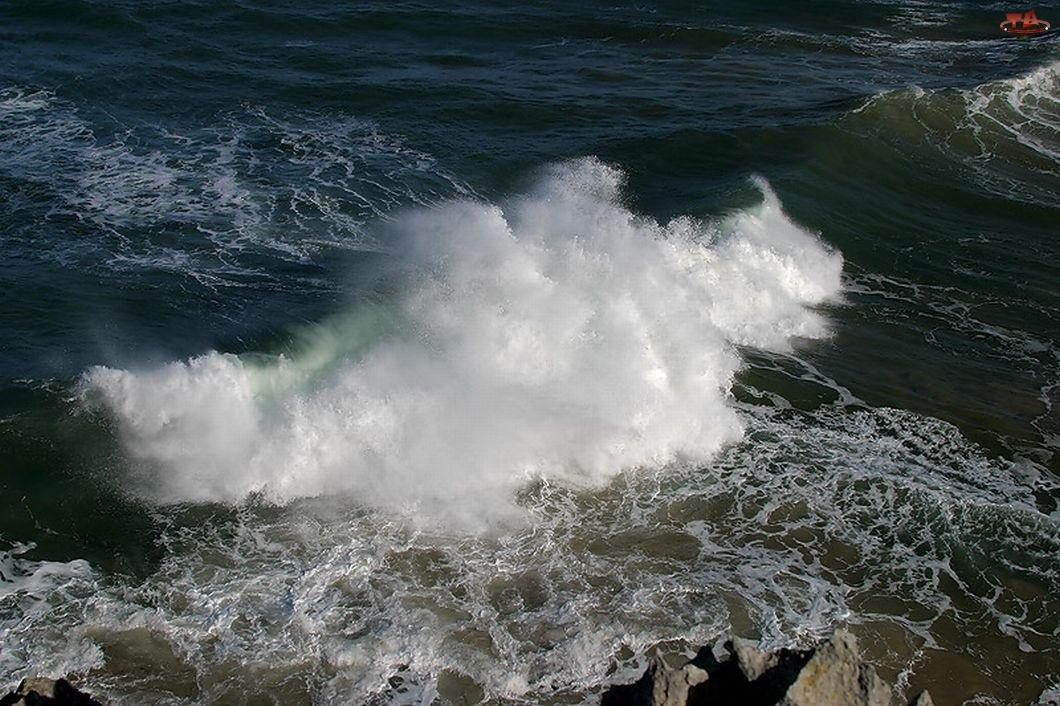 Fale, Piana, Morze