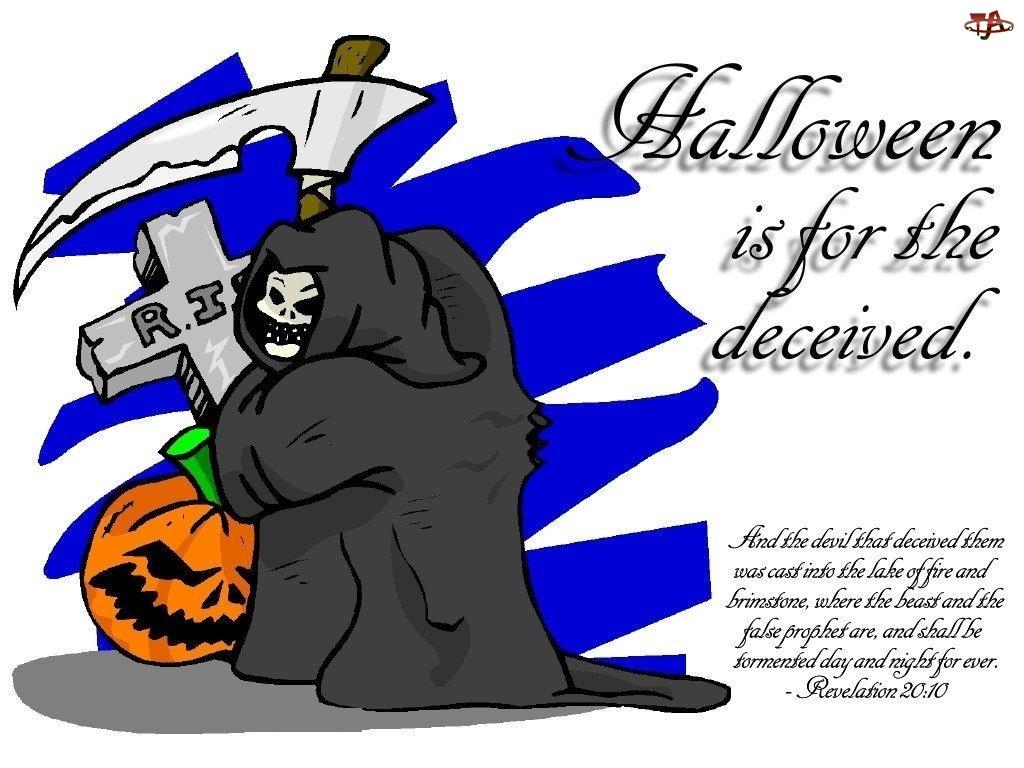 kosa, Halloween