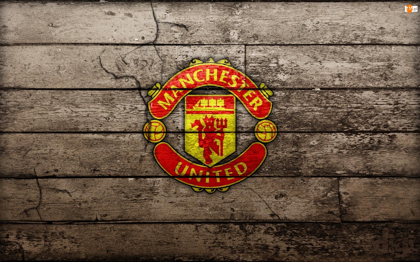 Logo, Płot, Klub, Manchester United