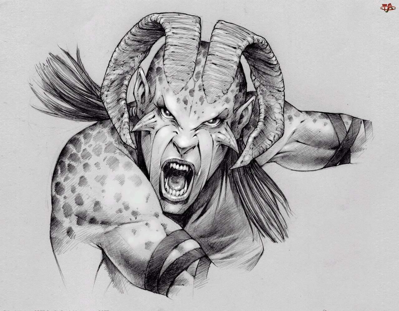 Szkic, Diabeł