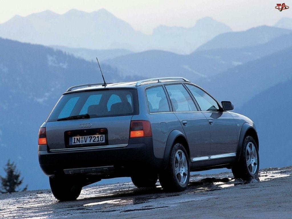 Audi Allroad, Góry