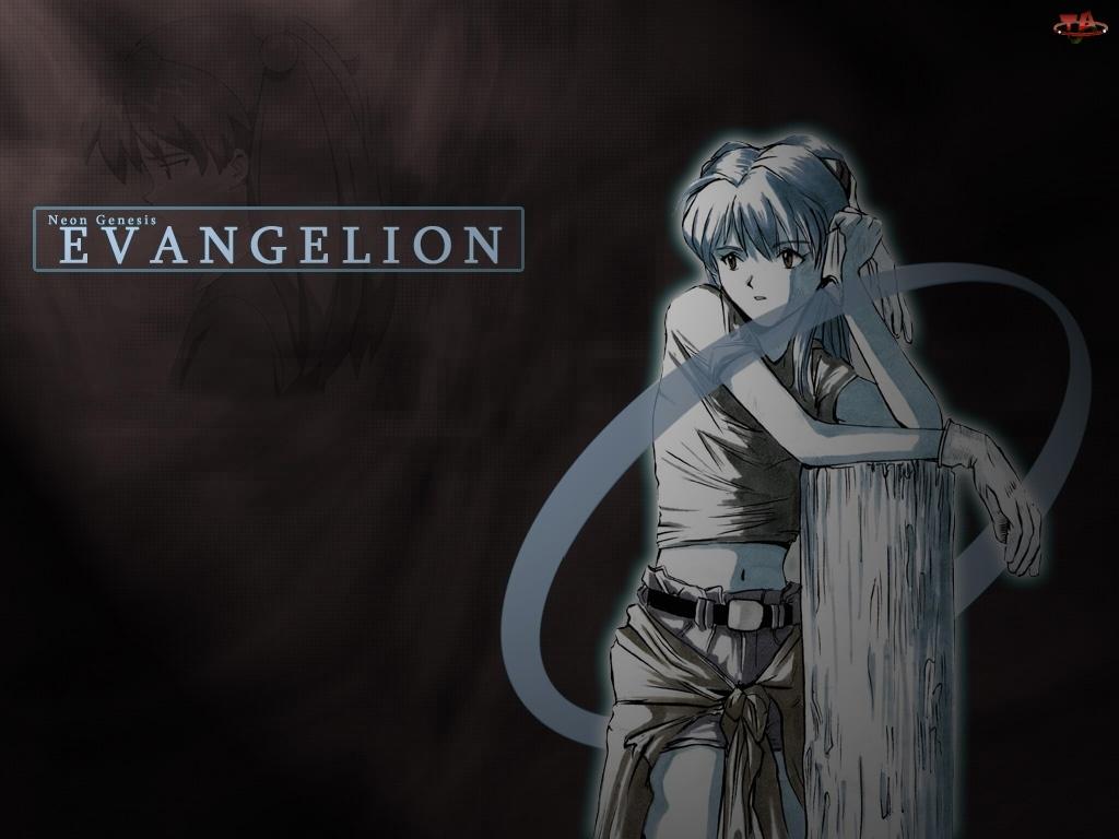 pal, Neon Genesis Evangelion, kobieta