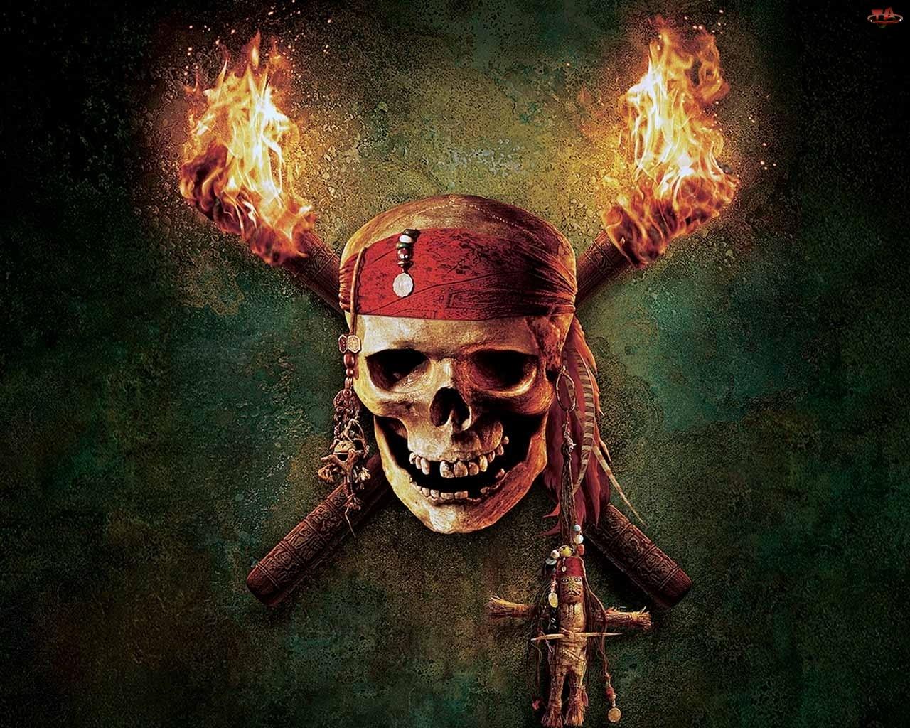 czaszka, Piraci z Karaibów, trupia