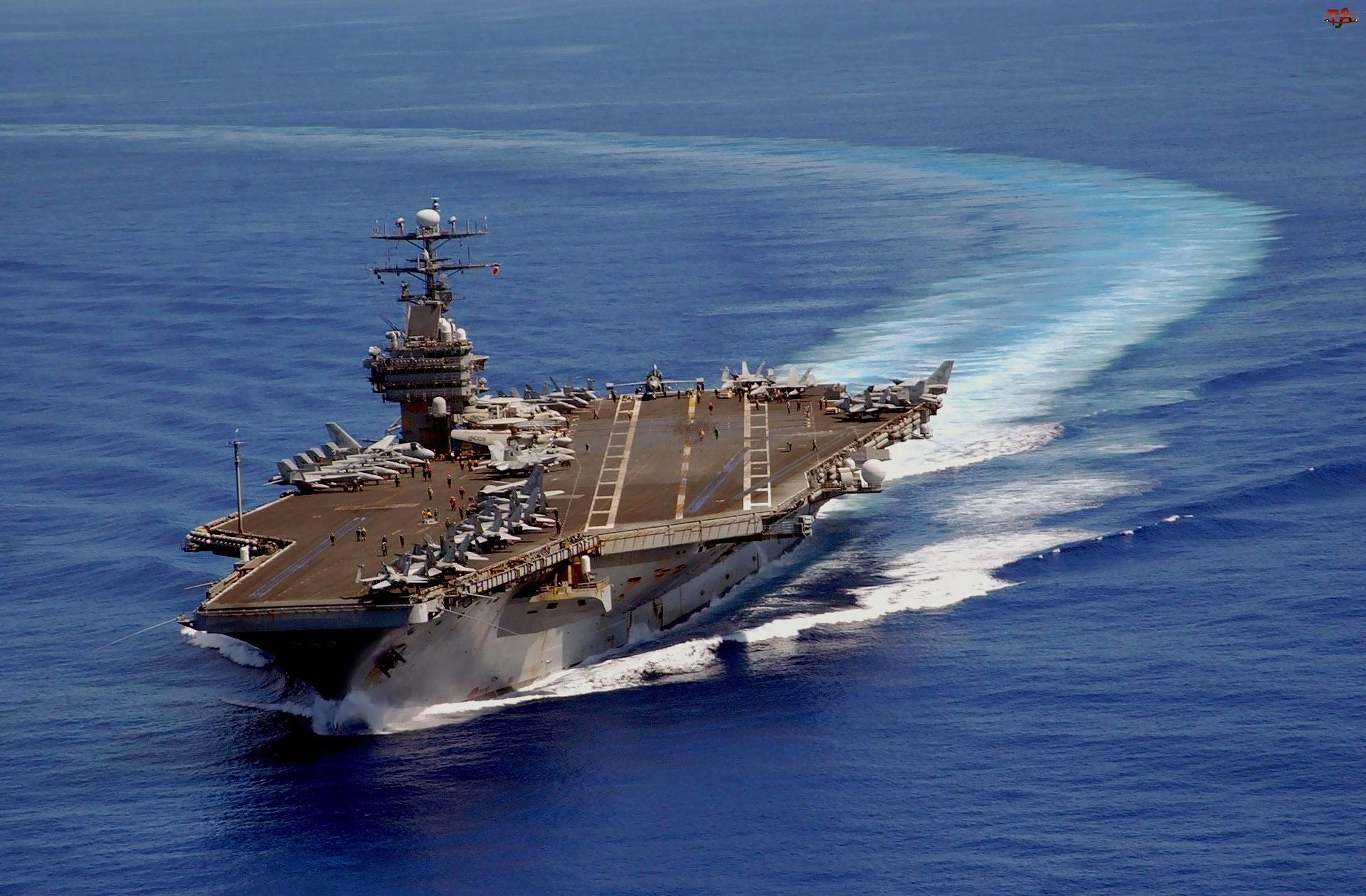 USS Carl Vinson, Lotniskowiec, Atomowy