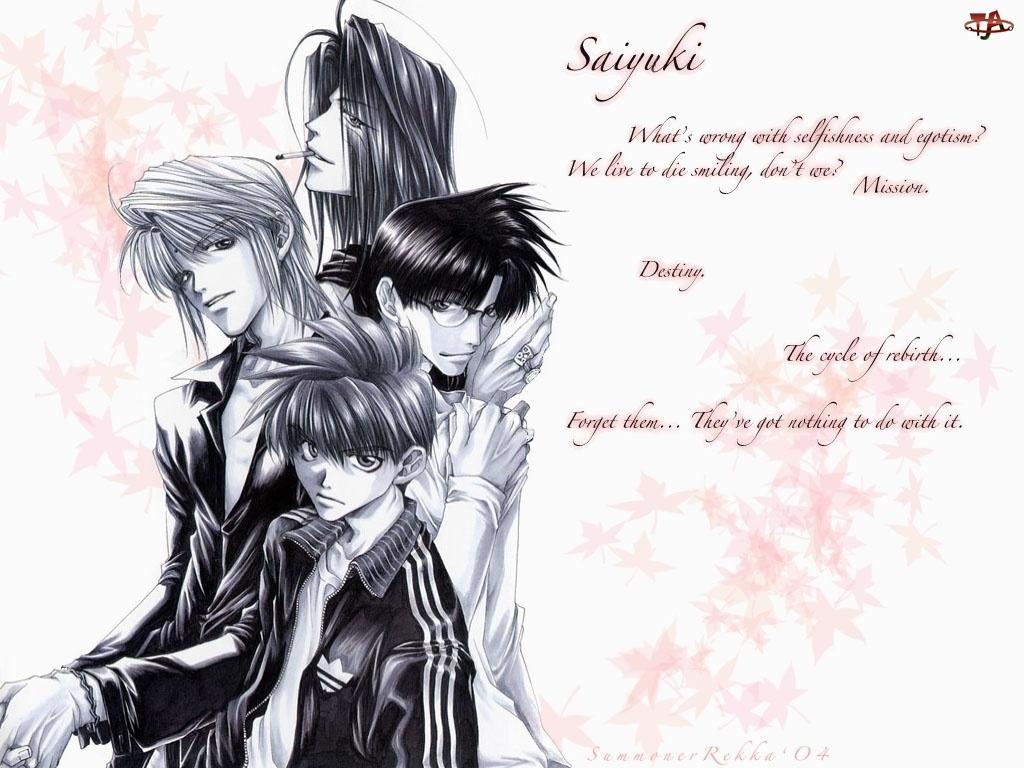 ludzie, Saiyuki, napisy