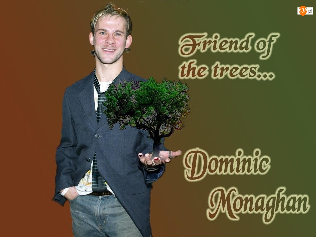 krawat, Dominic Monaghan, drzewo