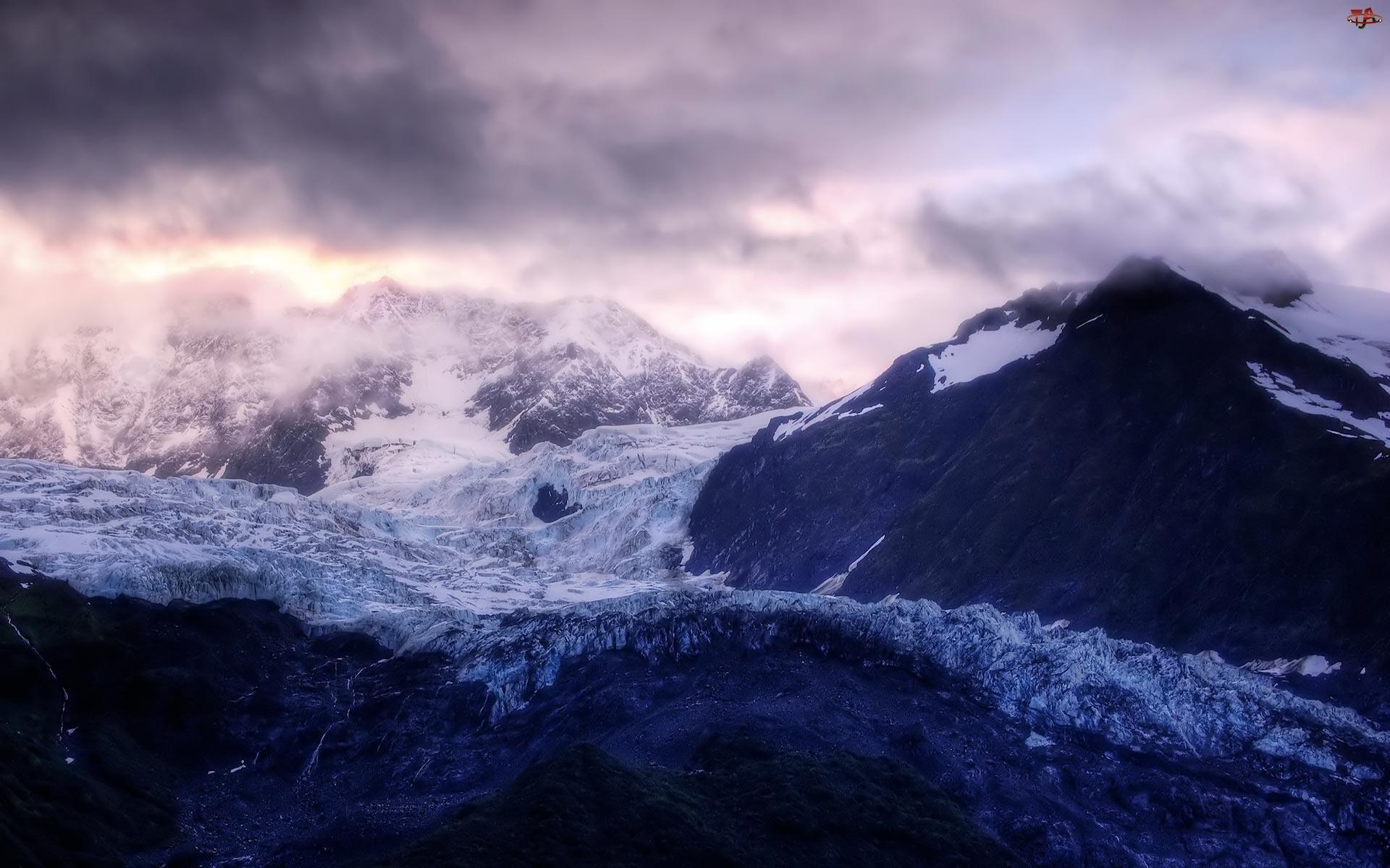 Góry, Śnieg