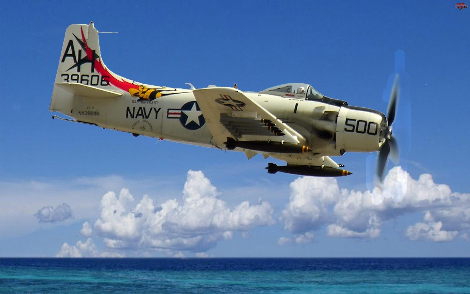 Douglas A-1H Skyraider, Uzbrojenie