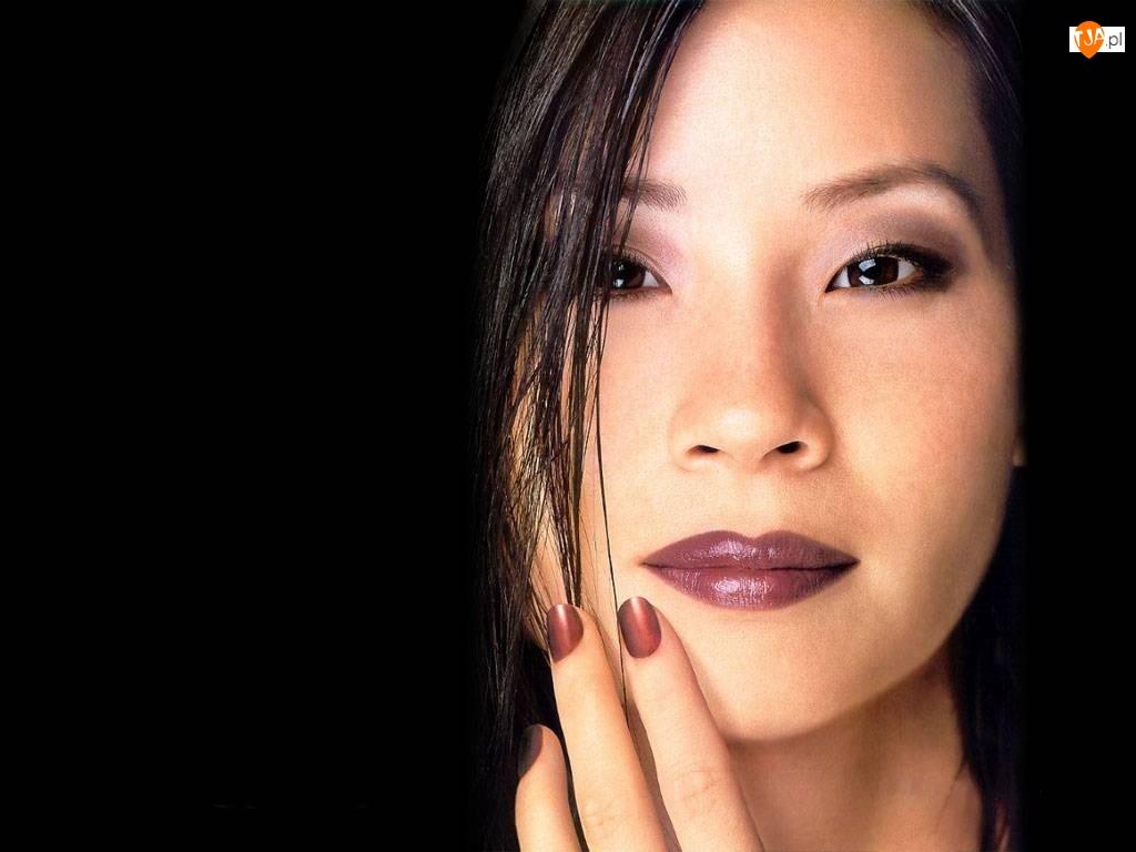 Lucy Liu, Twarz