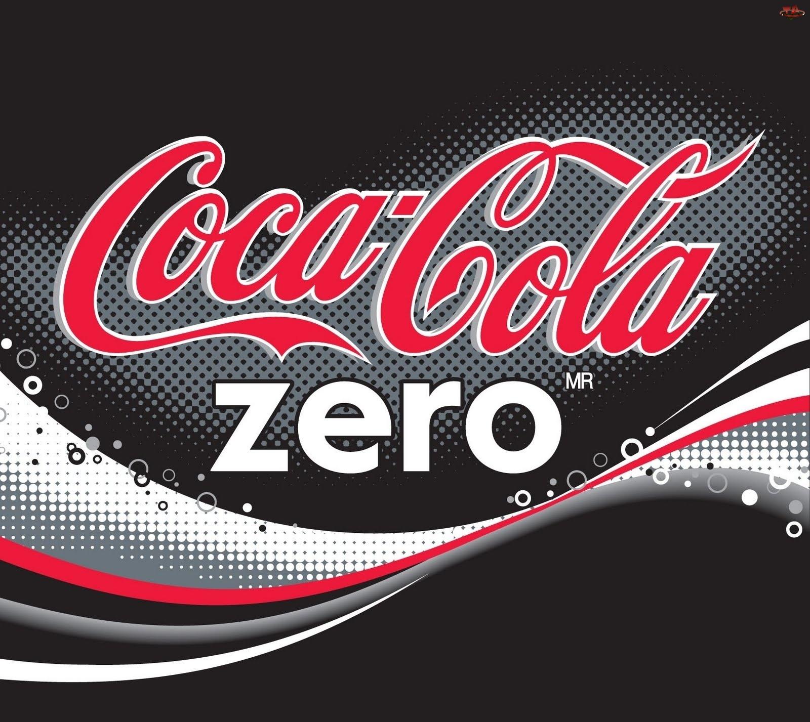 Coca, Logo, Cola, Zero