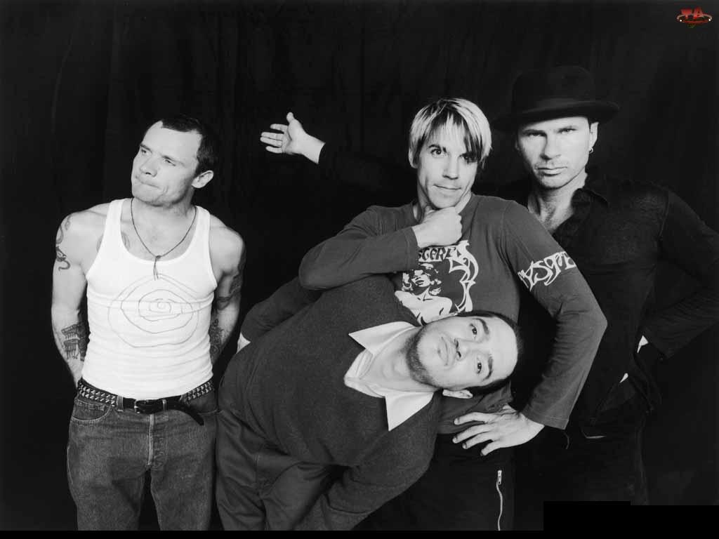 Red Hot Chili Peppers, kapelusz, zespół, tatuarze