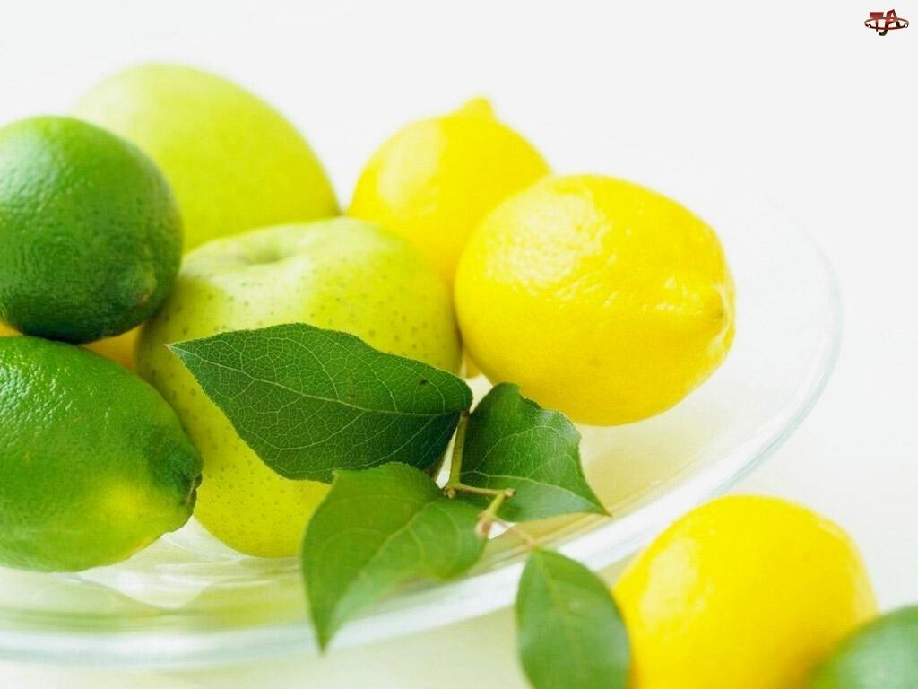 Cytryny, Jabłko, Limonki, Zielone