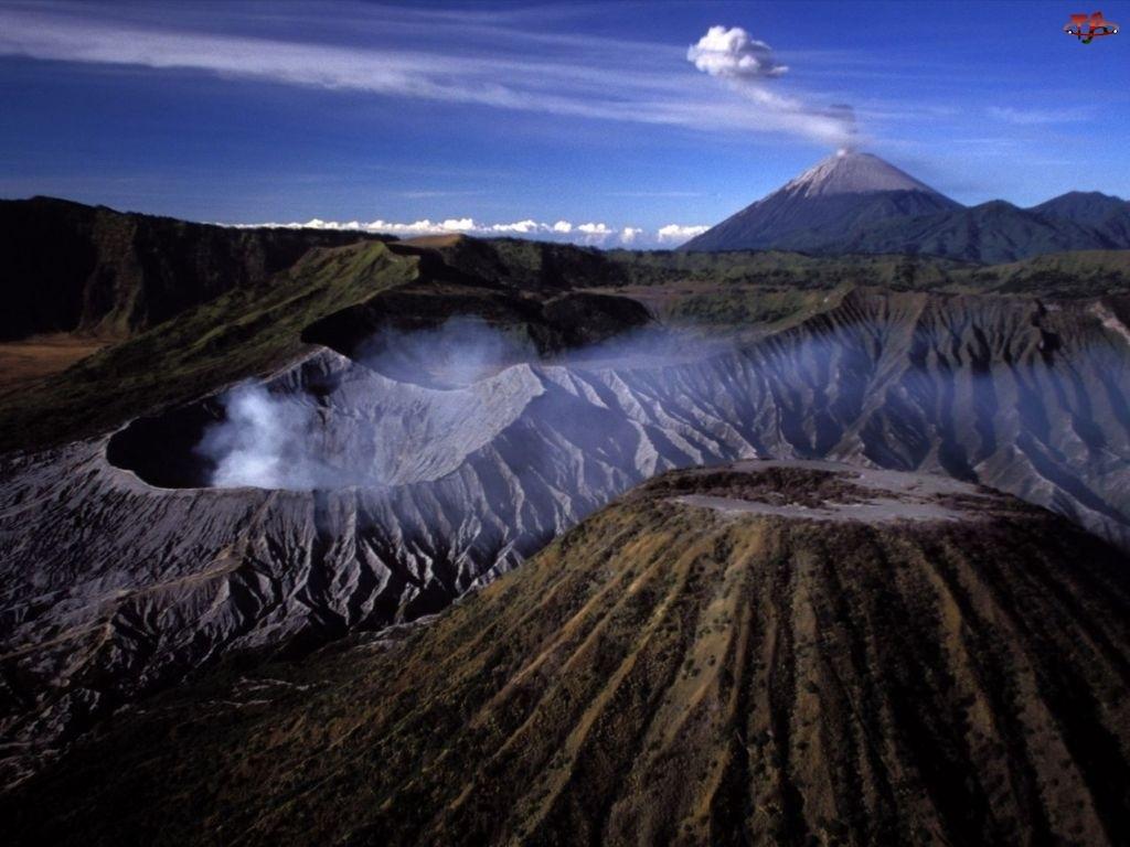 Wulkany, Krajobraz, Kratery