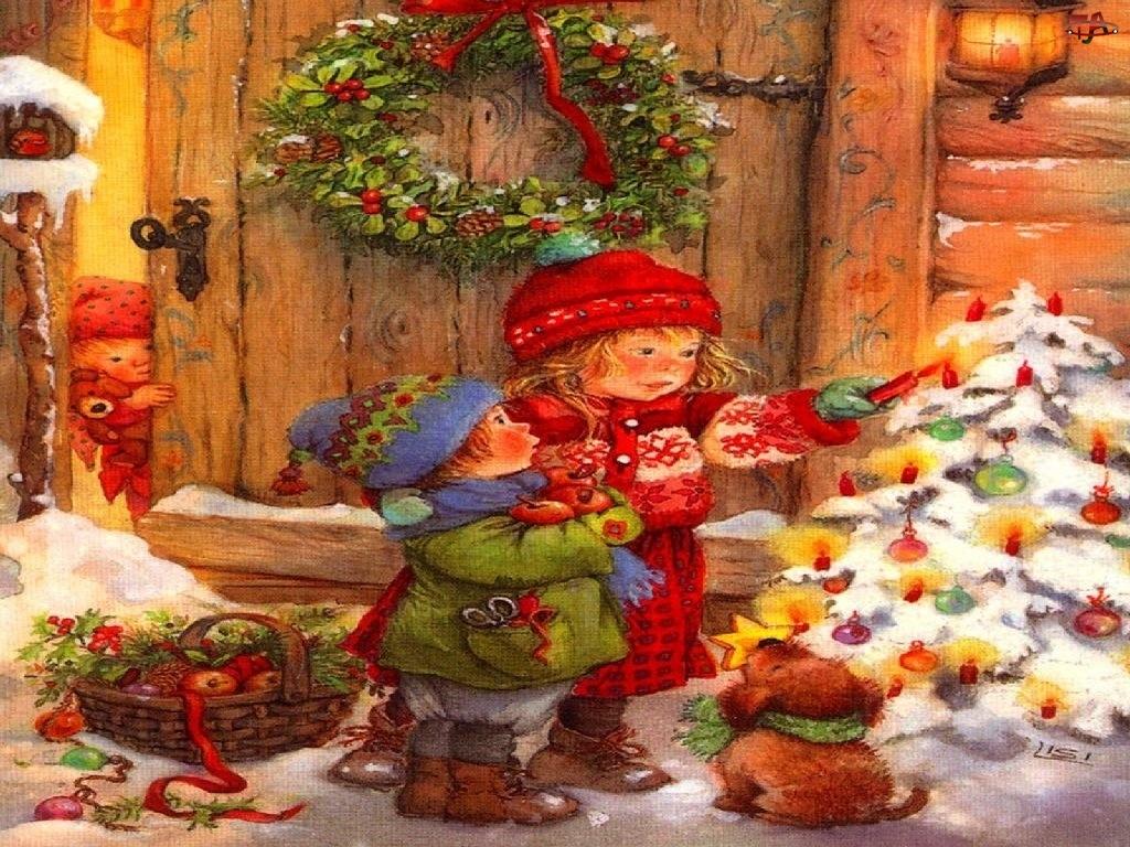 Zima, Boże Narodzenie, Dziecko