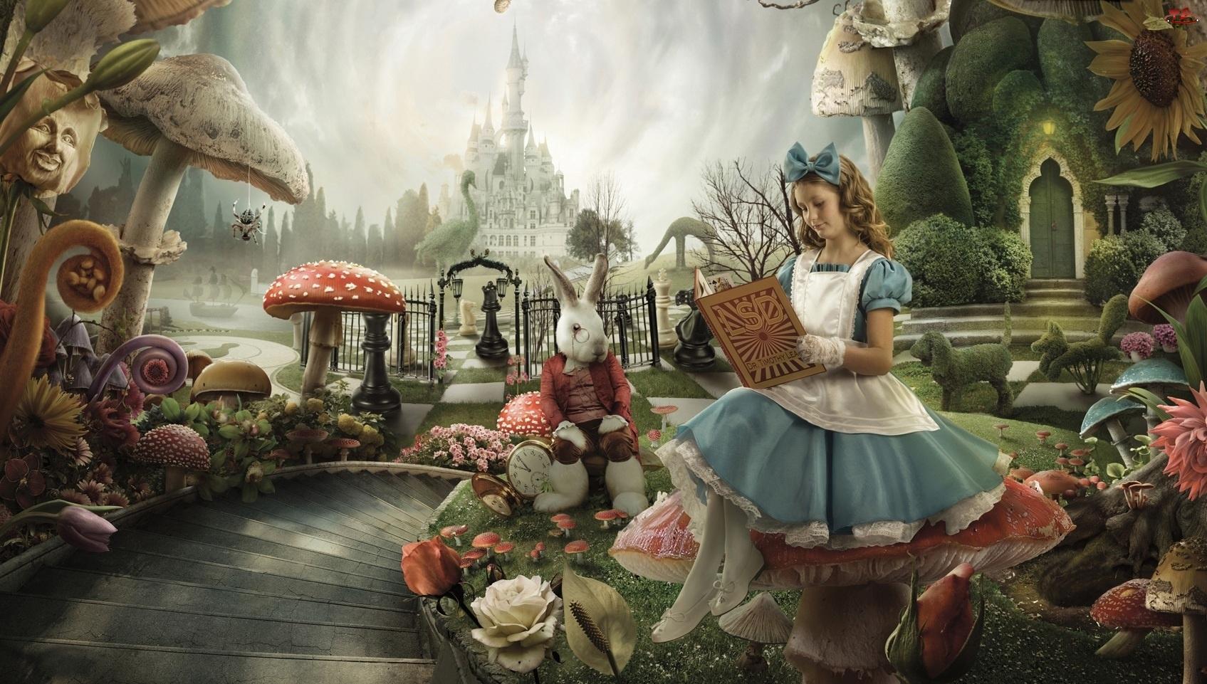 Alicja W Krainie Czarów, Królik