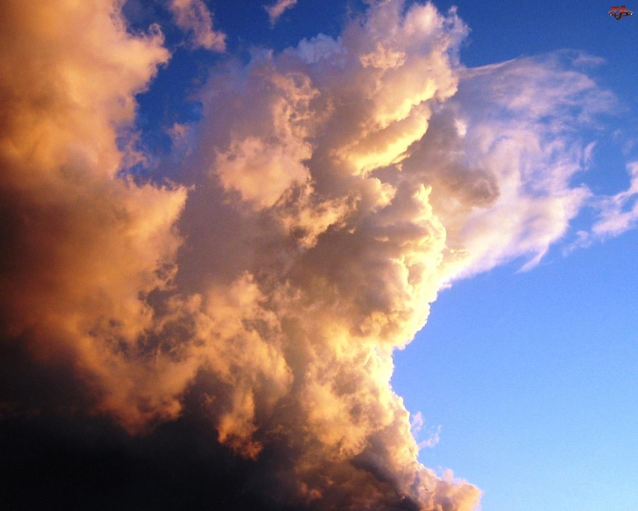 Chmury, Burzowe, Ciemne