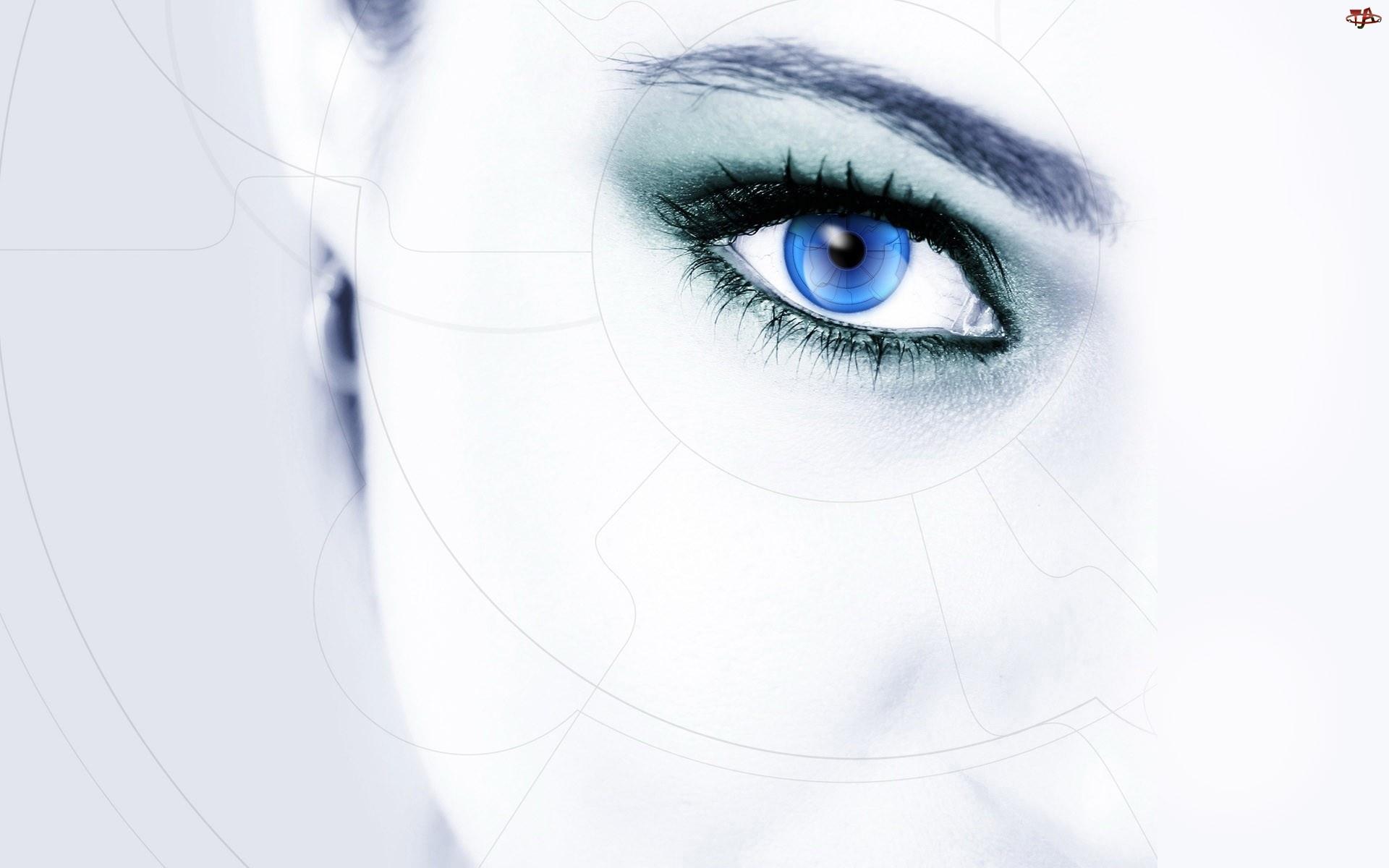 Oko , Kobieta, Twarz