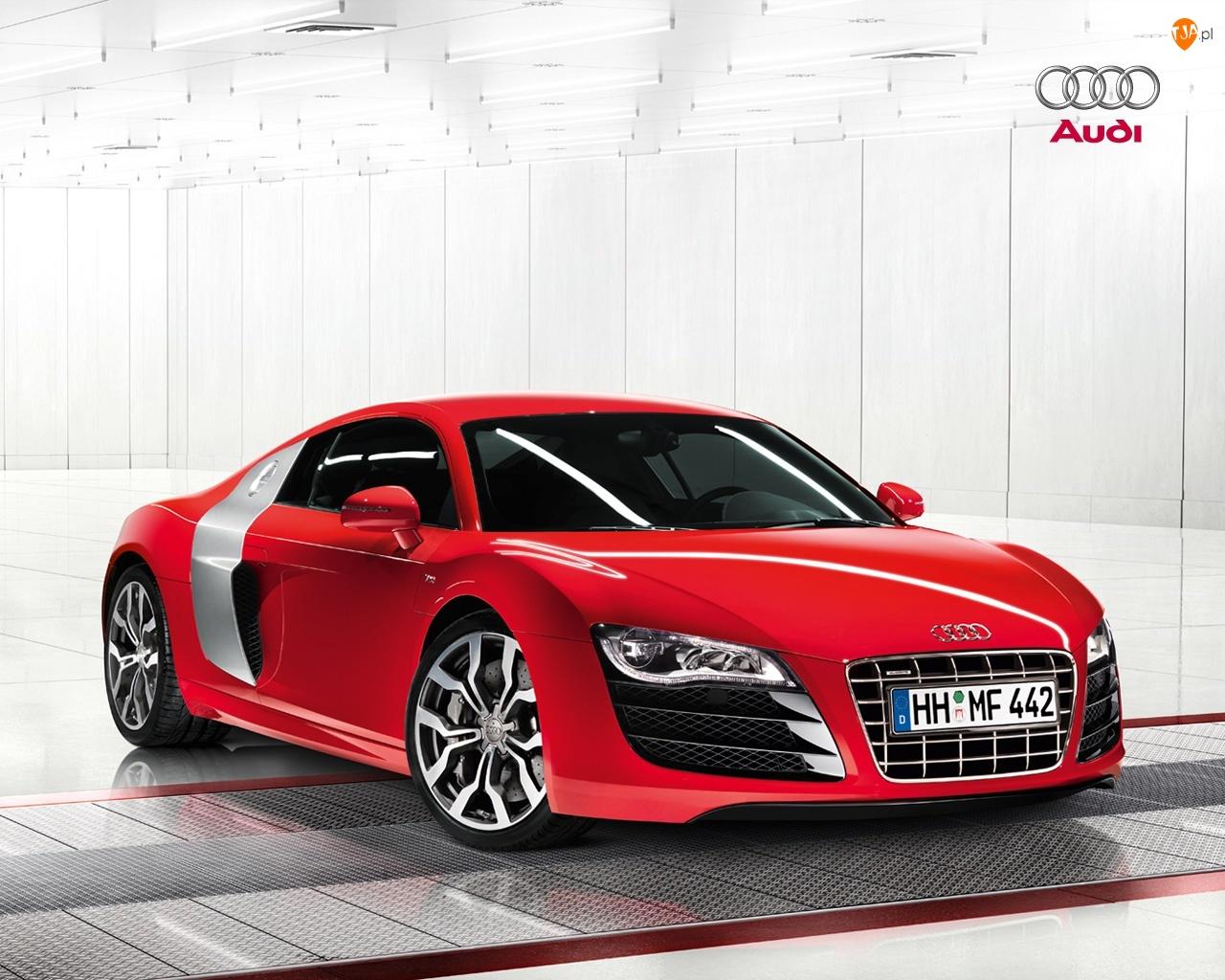 Zderzak, Audi R8, Maska
