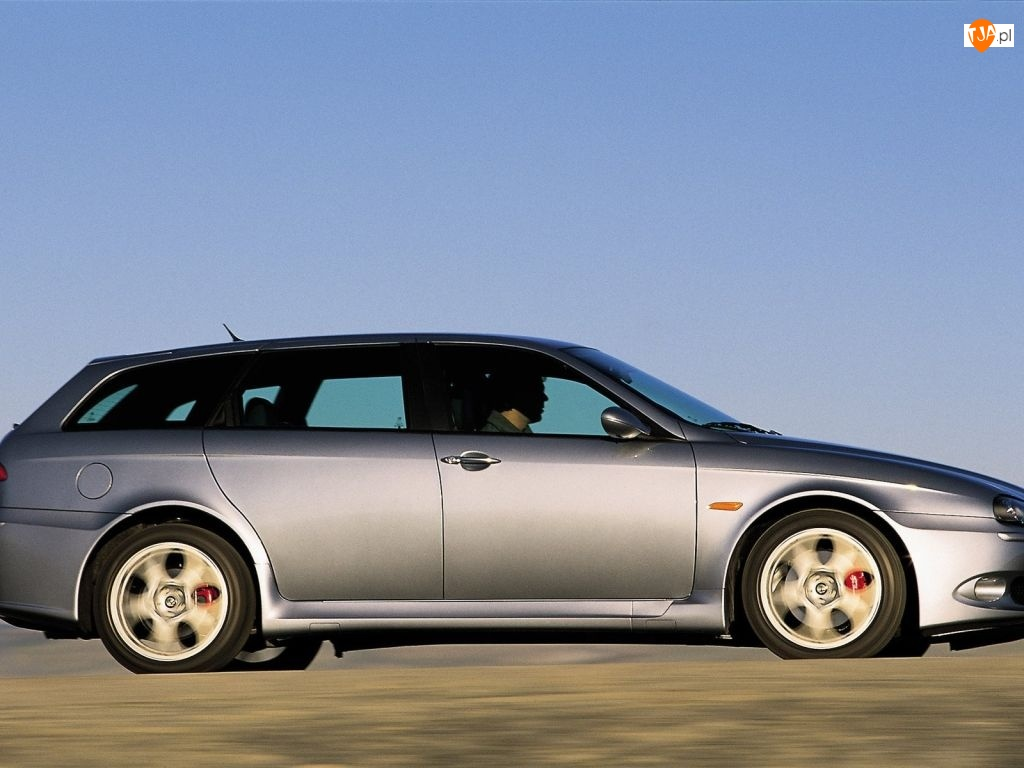 Prawy bok, Alfa Romeo 156, Kombi