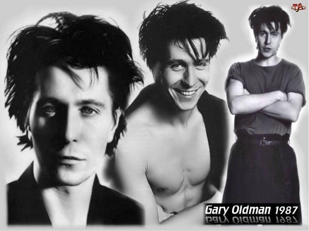 uśmiech, Gary Oldman, ciemne włosy