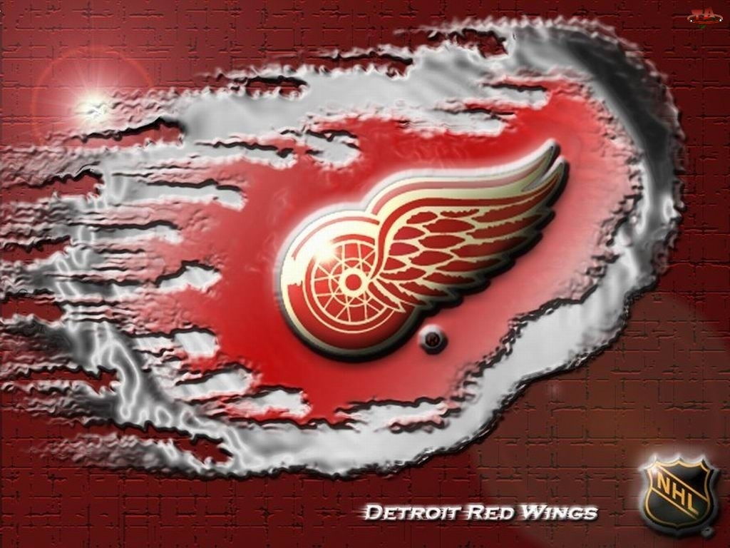 Logo, Detroit Red Wings, Drużyny, NHL