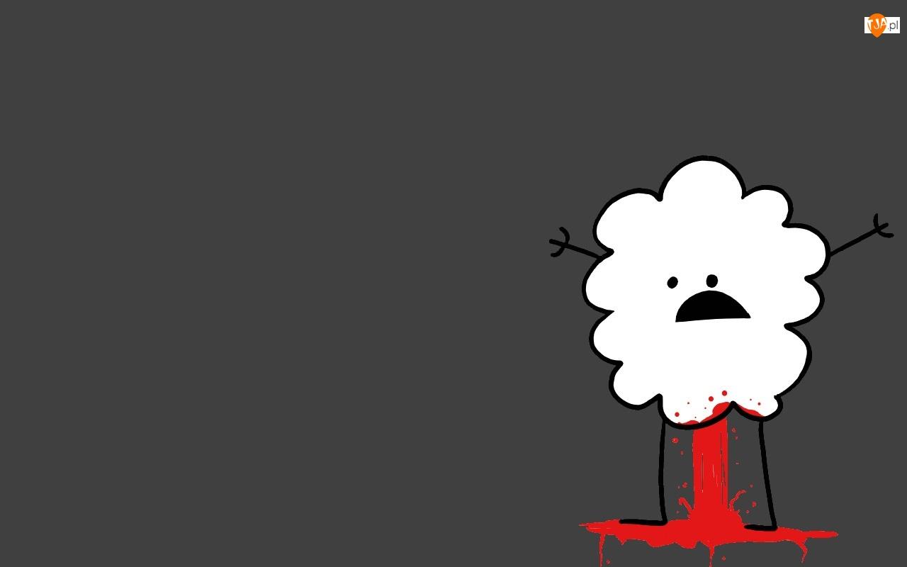 Krwawiąca, Chmurka