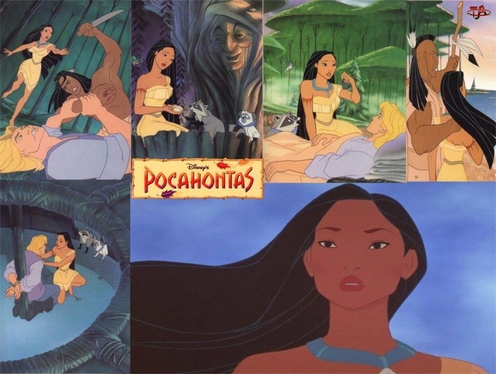 Pocahontas, sceny