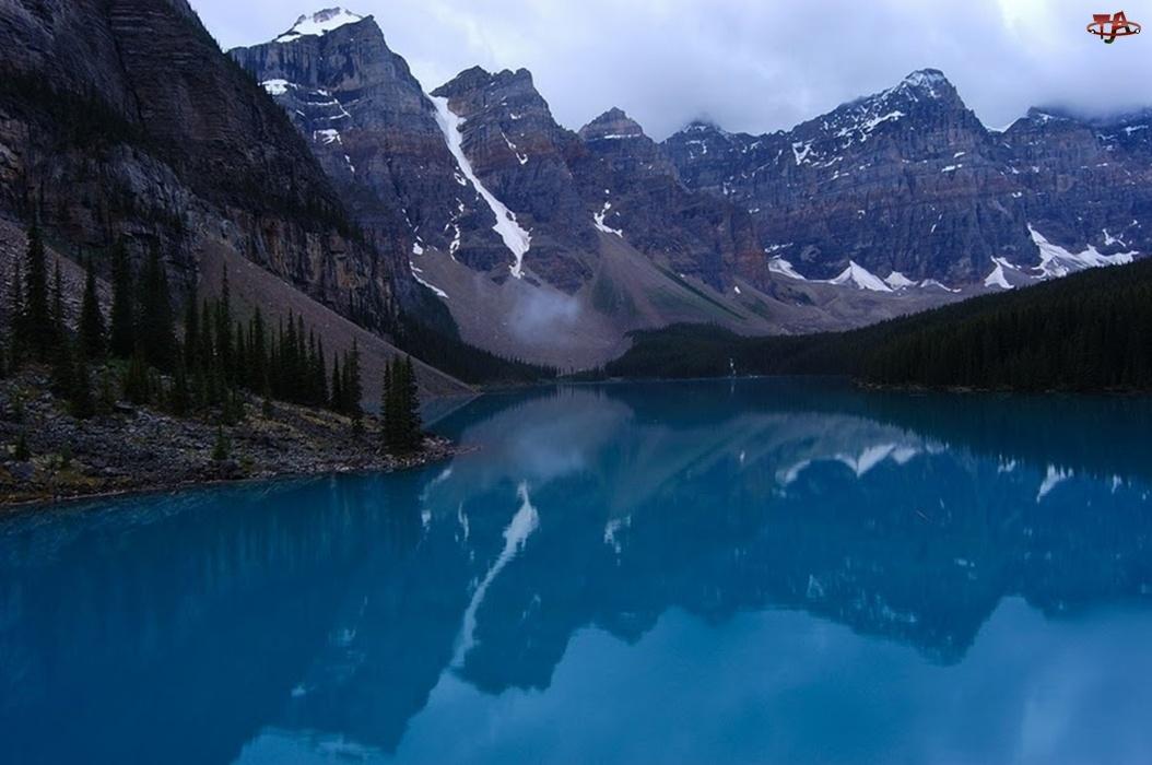 Park Narodowy Banff, Kanada, Jezioro Moraine Lake