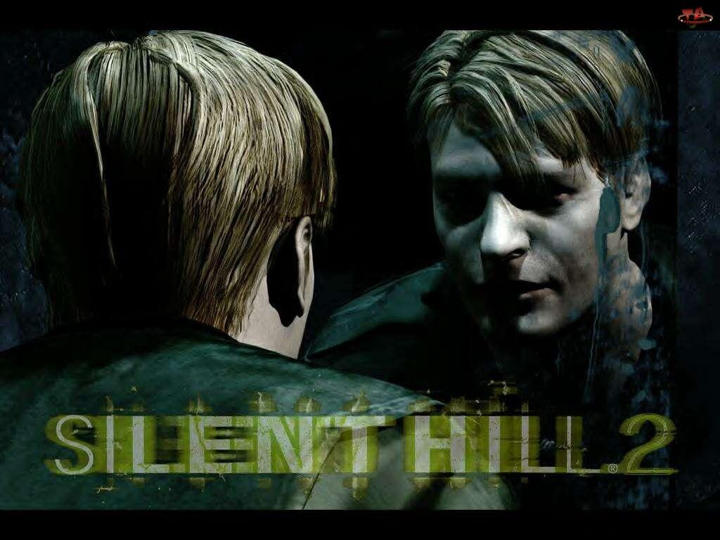 Silent Hill 2, lustro, mężczyzna, twarz