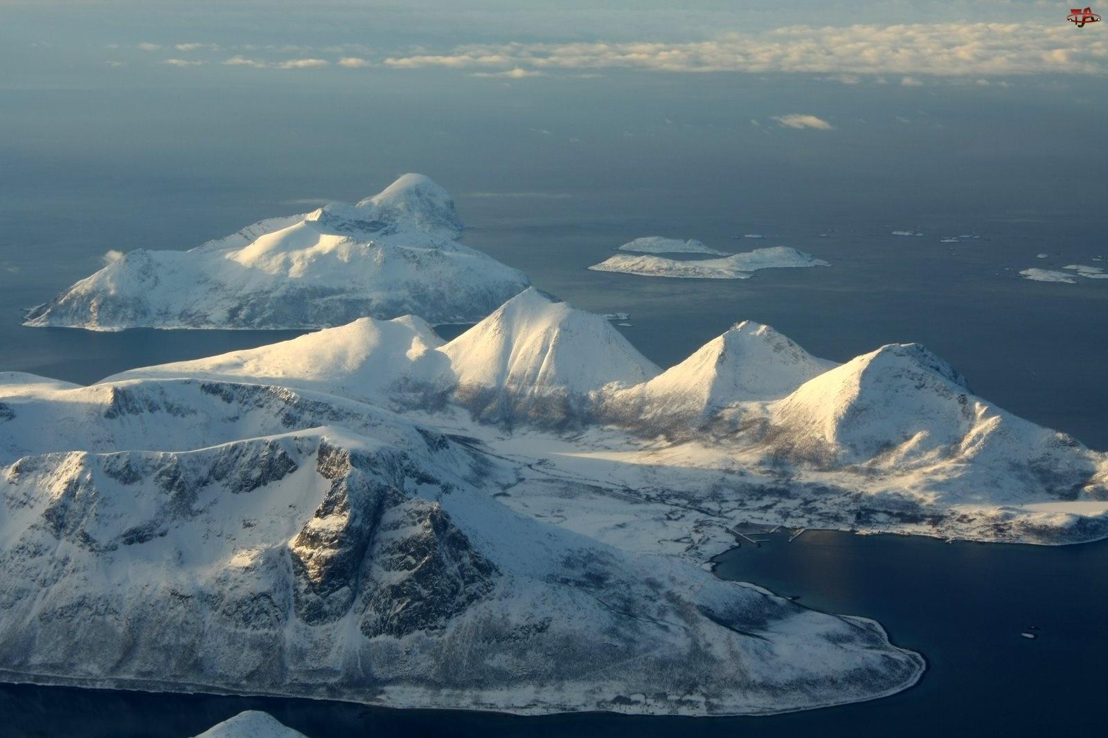 Norwegia, Lodowce, Svallbard