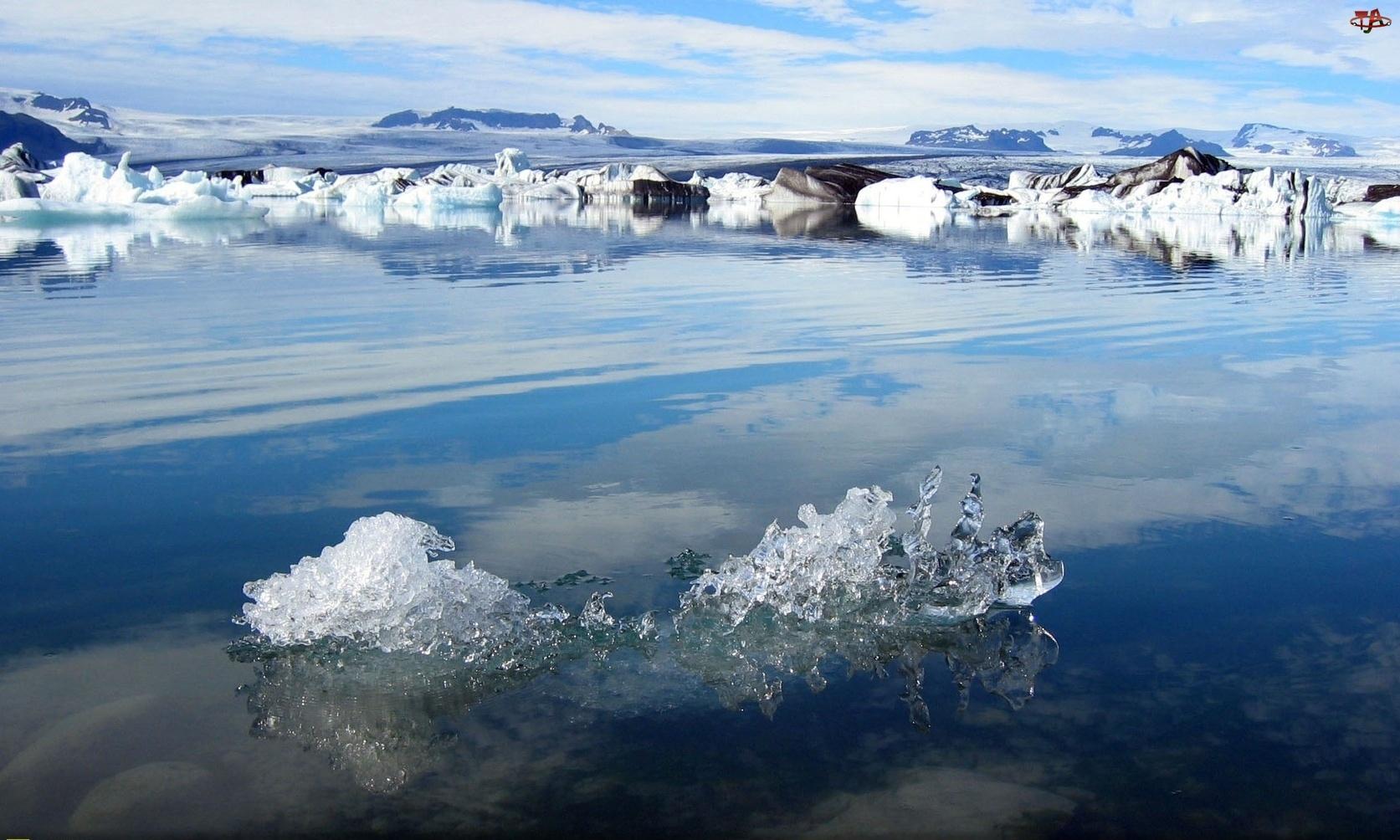 Islandia, Jezioro, Jokulsarlon