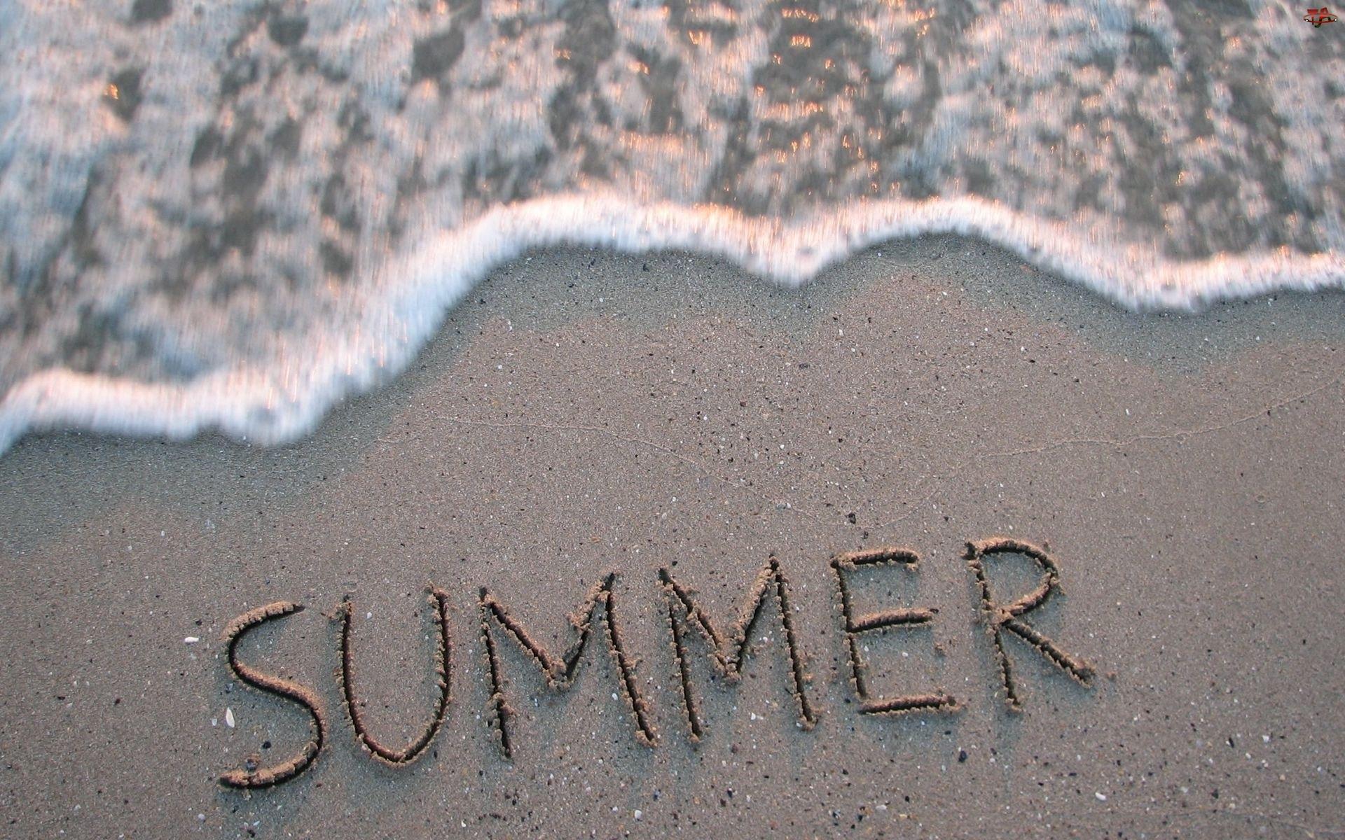 Lato, Plaża, Woda