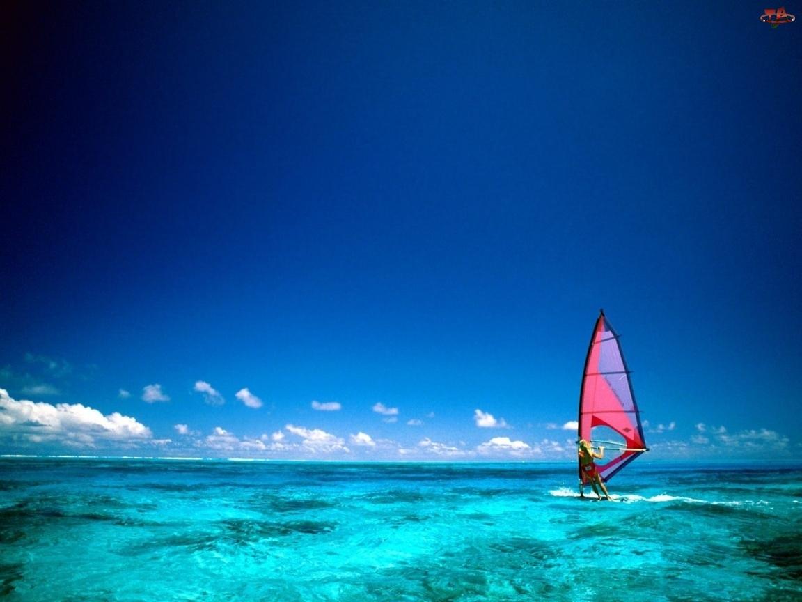Windsurfing, Morze