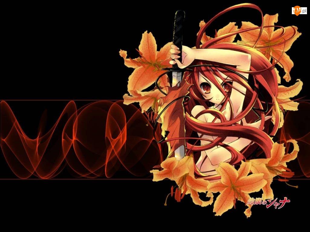Walcząca, Shakugan No Shana, Dziewczyna, Kwiaty