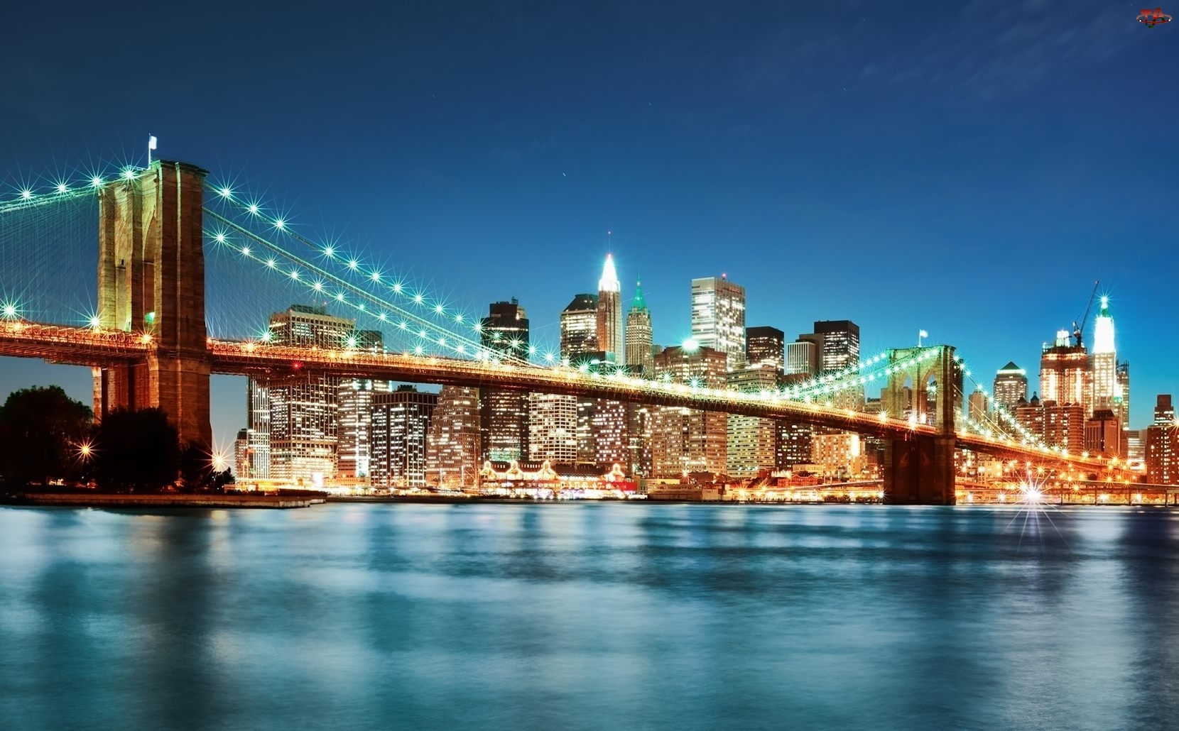 Most, Nowy Jork, Miasto