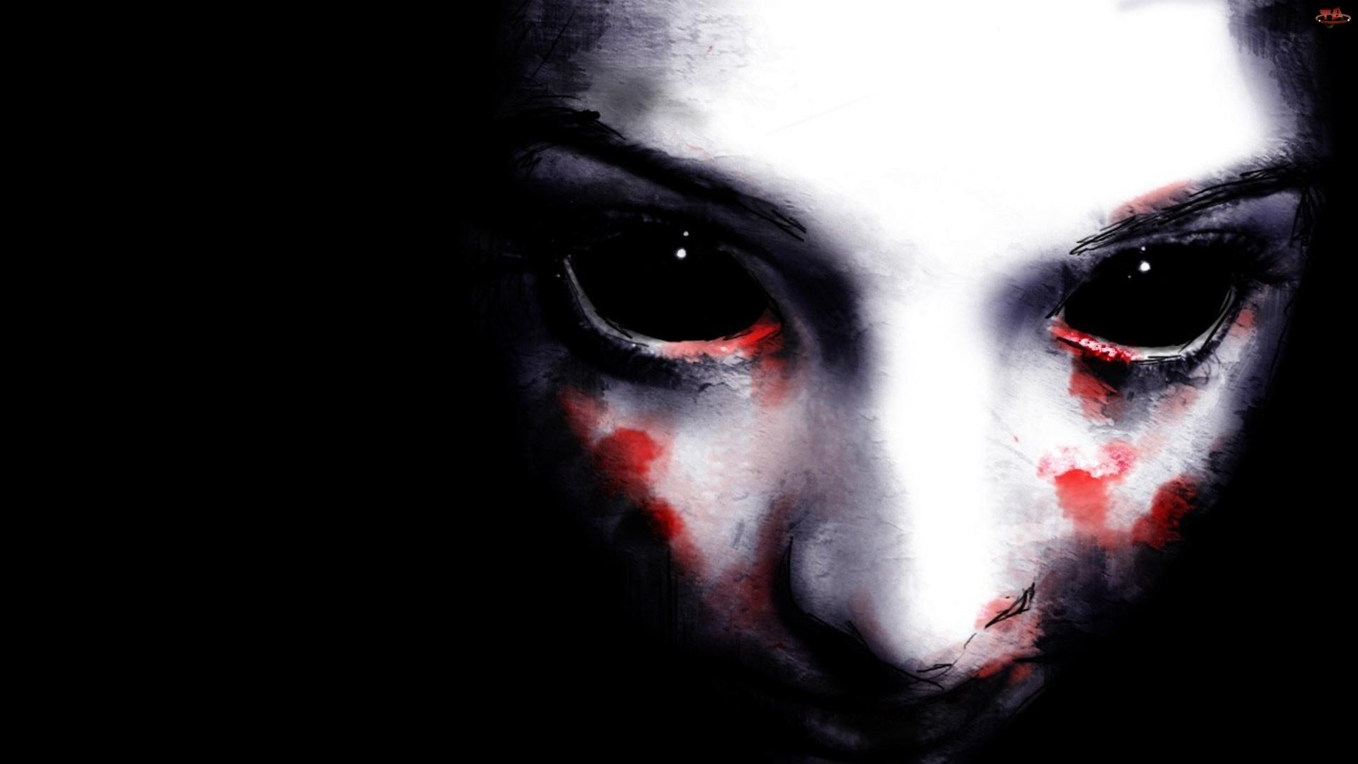 Twarz, Oczy, Kobiety, Zakrwawione