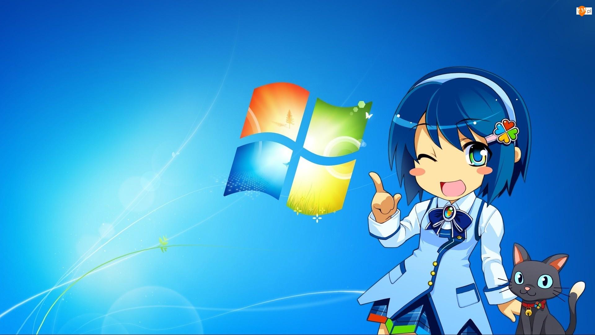 Windows, Dziewczyna, Spinka