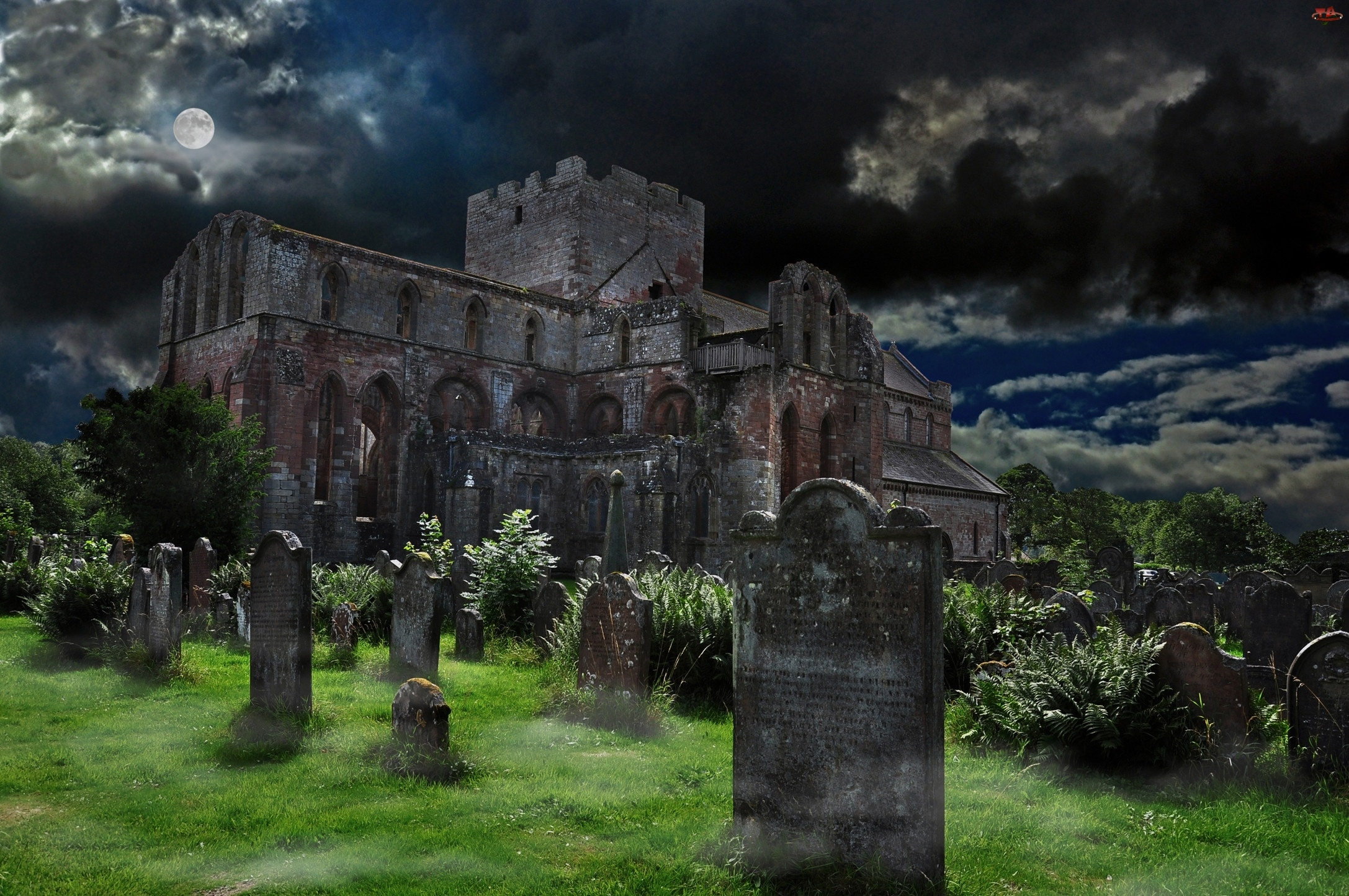 Zamek, Cmentarz