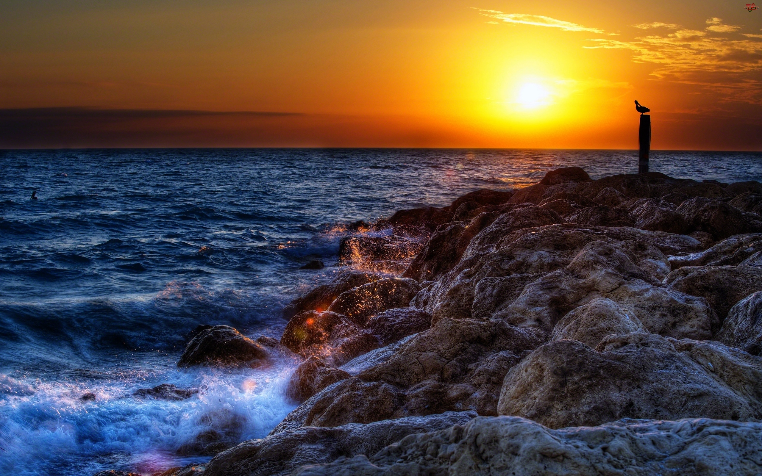 Kamienie, Morze