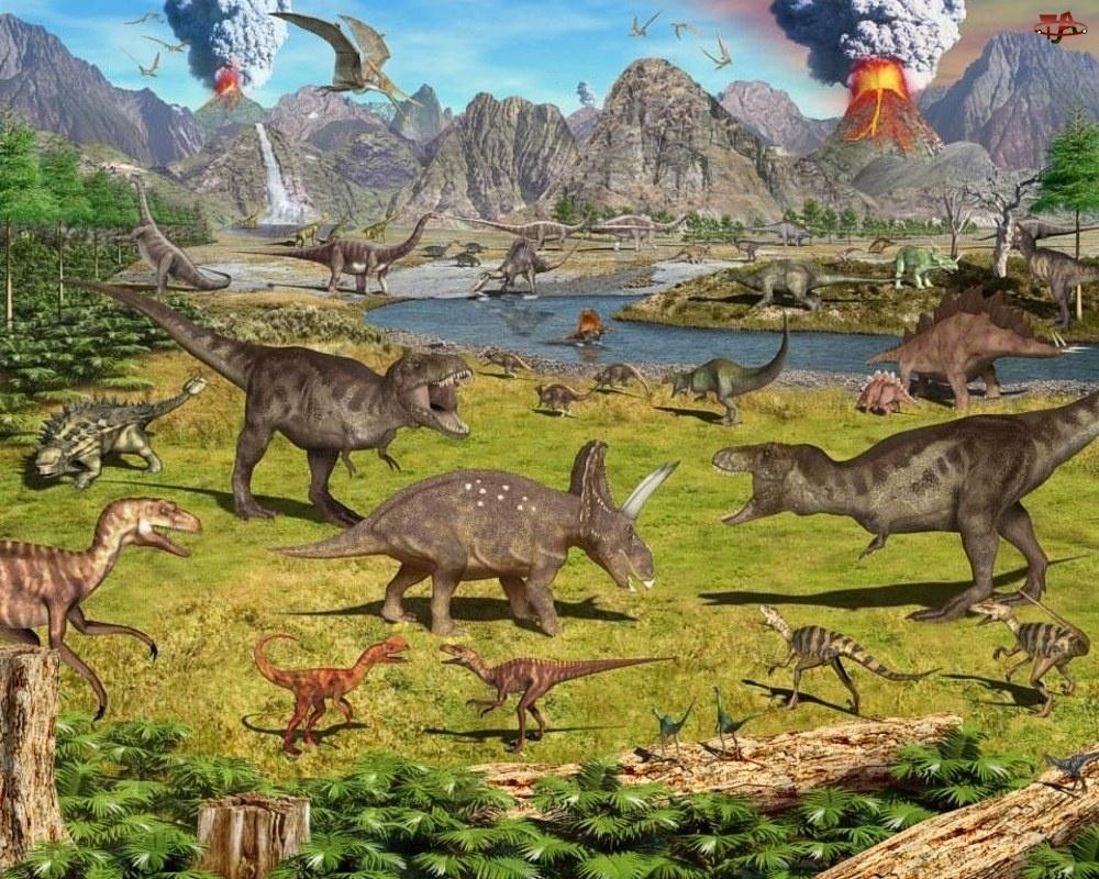 Jurajski, Dinozaury, Park