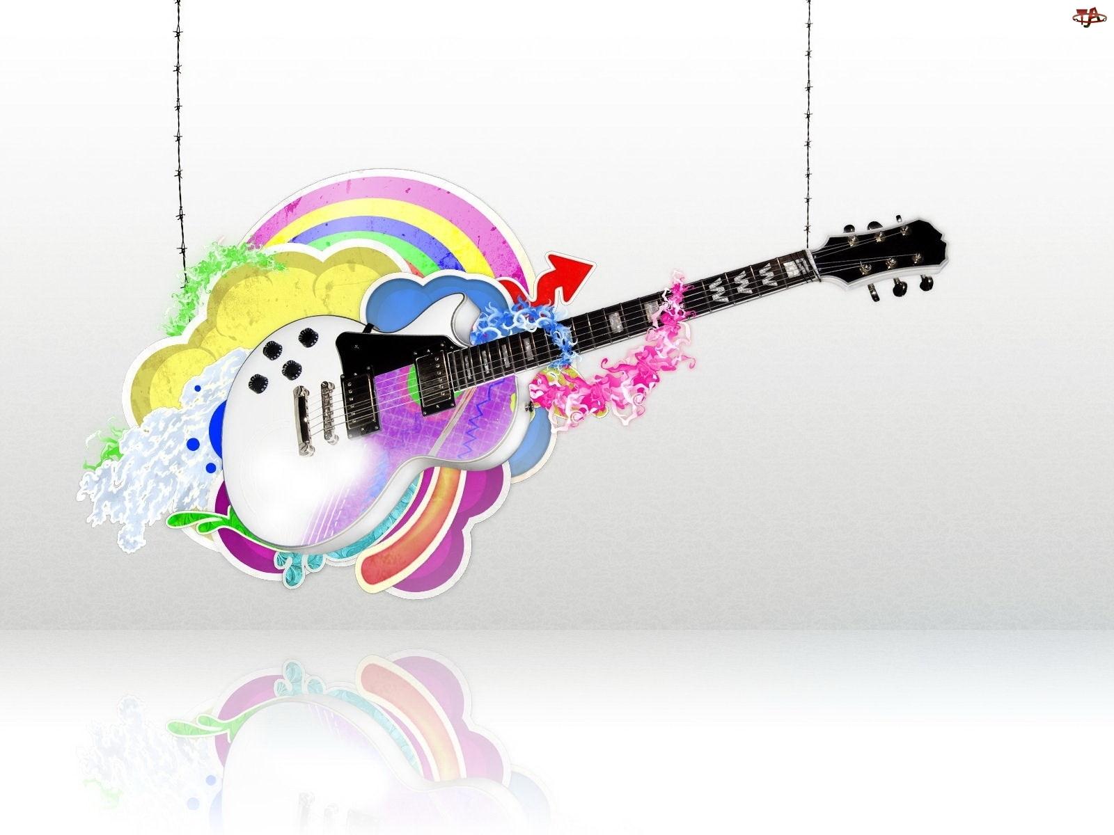 Gitara, Grafika